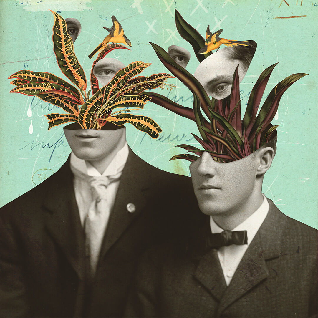 Digital Collage Art / Leo & Pipo: The Last Of The Great Botanists