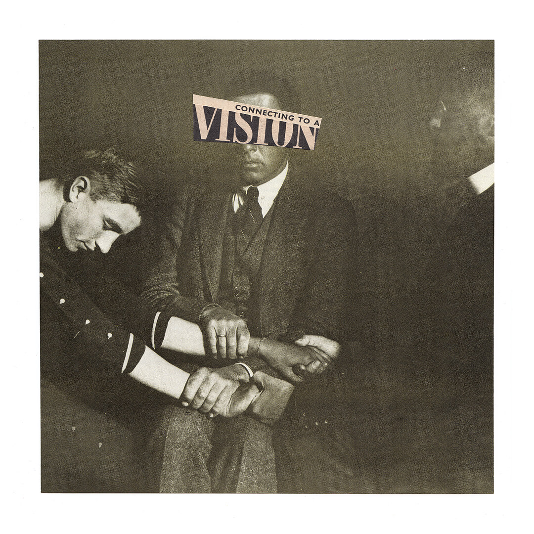 Analogue Collage by Wolves of Suburbia / Connecting to a Vision - Day 3 of Februllage (2019)